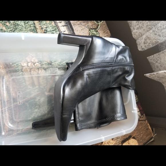 Aldo Shoes - Black boots knee high
